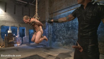 Photo number 9 from Coach Burke's Twisted Fantasy shot for Bound Gods on Kink.com. Featuring Christian Wilde and Chris Burke in hardcore BDSM & Fetish porn.