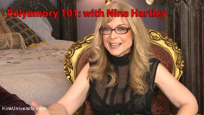 Photo number 2 from Introduction to Polyamory: Spreading the Love shot for Kink University on Kink.com. Featuring Nina Hartley in hardcore BDSM & Fetish porn.