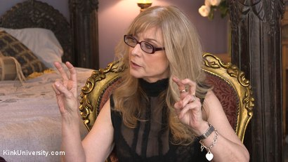 Photo number 3 from Introduction to Polyamory: Spreading the Love shot for Kink University on Kink.com. Featuring Nina Hartley in hardcore BDSM & Fetish porn.