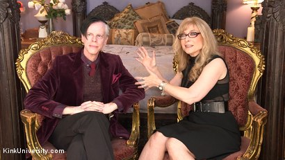 Photo number 4 from Introduction to Polyamory: Spreading the Love shot for Kink University on Kink.com. Featuring Nina Hartley in hardcore BDSM & Fetish porn.