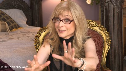 Photo number 5 from Introduction to Polyamory: Spreading the Love shot for Kink University on Kink.com. Featuring Nina Hartley in hardcore BDSM & Fetish porn.