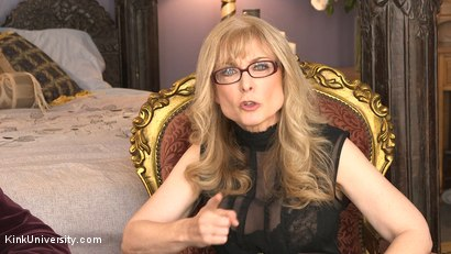 Photo number 7 from Introduction to Polyamory: Spreading the Love shot for Kink University on Kink.com. Featuring Nina Hartley in hardcore BDSM & Fetish porn.