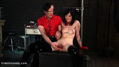 Photo number 12 from Suction Pumping shot for Kink University on Kink.com. Featuring Charlotte Sartre and Danarama in hardcore BDSM & Fetish porn.