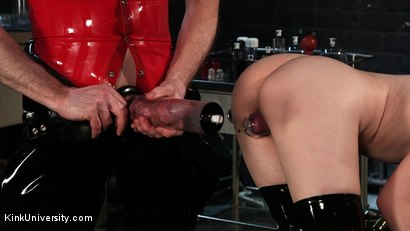 Photo number 17 from Suction Pumping shot for Kink University on Kink.com. Featuring Charlotte Sartre and Danarama in hardcore BDSM & Fetish porn.
