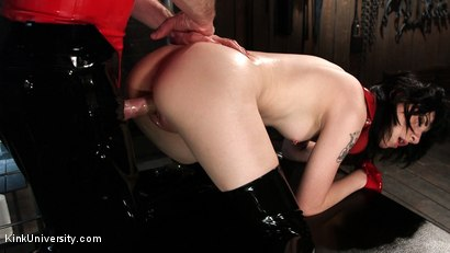 Photo number 26 from Suction Pumping shot for Kink University on Kink.com. Featuring Charlotte Sartre and Danarama in hardcore BDSM & Fetish porn.