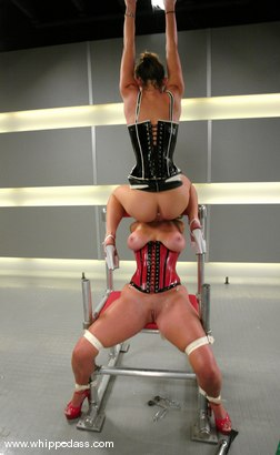 Photo number 6 from Kayla Paige and Christina Carter shot for Whipped Ass on Kink.com. Featuring Christina Carter and Kayla Paige in hardcore BDSM & Fetish porn.