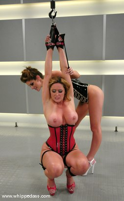 Photo number 9 from Kayla Paige and Christina Carter shot for Whipped Ass on Kink.com. Featuring Christina Carter and Kayla Paige in hardcore BDSM & Fetish porn.