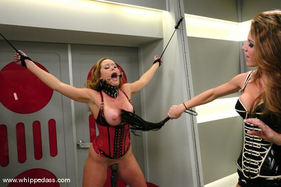 Photo number 2 from Kayla Paige and Christina Carter shot for Whipped Ass on Kink.com. Featuring Christina Carter and Kayla Paige in hardcore BDSM & Fetish porn.