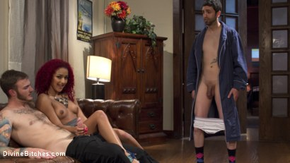 Photo number 2 from Daisy Ducati: The Cuckoldress shot for Divine Bitches on Kink.com. Featuring Christian Wilde, Daisy Ducati and Jay Wimp in hardcore BDSM & Fetish porn.