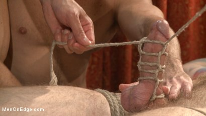 Photo number 4 from Edged in front of a live audience Christian Wilde blows a massive load shot for Men On Edge on Kink.com. Featuring Christian Wilde in hardcore BDSM & Fetish porn.