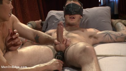 Photo number 6 from Edged in front of a live audience Christian Wilde blows a massive load shot for Men On Edge on Kink.com. Featuring Christian Wilde in hardcore BDSM & Fetish porn.