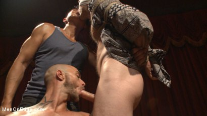 Photo number 10 from Edged in front of a live audience Christian Wilde blows a massive load shot for Men On Edge on Kink.com. Featuring Christian Wilde in hardcore BDSM & Fetish porn.