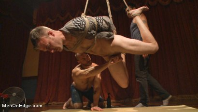 Photo number 11 from Edged in front of a live audience Christian Wilde blows a massive load shot for Men On Edge on Kink.com. Featuring Christian Wilde in hardcore BDSM & Fetish porn.