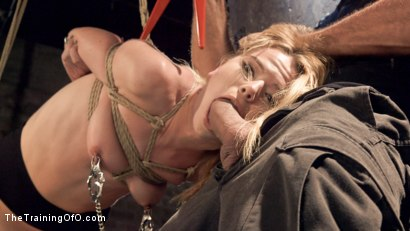 Photo number 3 from Anal Slut Trained in Hard Bondage: Alina West Day Two shot for The Training Of O on Kink.com. Featuring Alina West and Ramon Nomar in hardcore BDSM & Fetish porn.