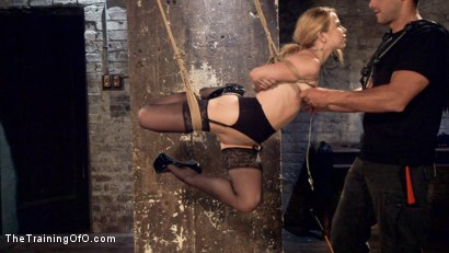 Photo number 2 from Anal Slut Trained in Hard Bondage: Alina West Day Two shot for The Training Of O on Kink.com. Featuring Alina West and Ramon Nomar in hardcore BDSM & Fetish porn.