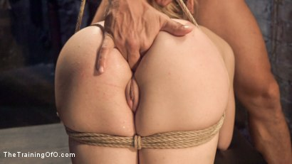 Photo number 11 from Anal Slut Trained in Hard Bondage: Alina West Day Two shot for The Training Of O on Kink.com. Featuring Alina West and Ramon Nomar in hardcore BDSM & Fetish porn.