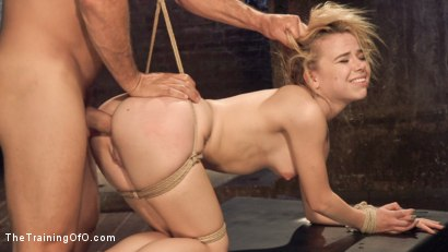 Photo number 12 from Anal Slut Trained in Hard Bondage: Alina West Day Two shot for The Training Of O on Kink.com. Featuring Alina West and Ramon Nomar in hardcore BDSM & Fetish porn.