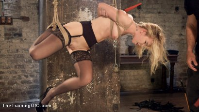 Photo number 5 from Anal Slut Trained in Hard Bondage: Alina West Day Two shot for The Training Of O on Kink.com. Featuring Alina West and Ramon Nomar in hardcore BDSM & Fetish porn.