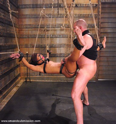 Photo number 12 from Mark Davis and Marie Luv shot for Sex And Submission on Kink.com. Featuring Mark Davis and Marie Luv in hardcore BDSM & Fetish porn.