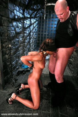 Photo number 6 from Mark Davis and Marie Luv shot for Sex And Submission on Kink.com. Featuring Mark Davis and Marie Luv in hardcore BDSM & Fetish porn.