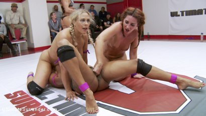 Photo number 10 from Our Rookie Cup Champions Coach their Teams to Victory or Defeat shot for Ultimate Surrender on Kink.com. Featuring Savannah Fox, Lisa Tiffian, Angel Allwood and Daisy Ducati in hardcore BDSM & Fetish porn.