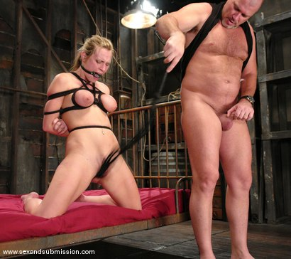Photo number 12 from Harmony and Mark Davis shot for Sex And Submission on Kink.com. Featuring Harmony and Mark Davis in hardcore BDSM & Fetish porn.