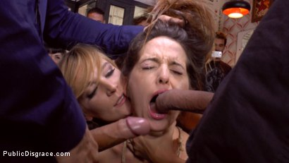 Photo number 7 from Wiggly Little Bitch Needs To Be Held Down And Humiliated shot for Public Disgrace on Kink.com. Featuring Mona Wales, Nati Mellow and Miguel Zayas in hardcore BDSM & Fetish porn.