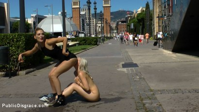Domination in public humiliation