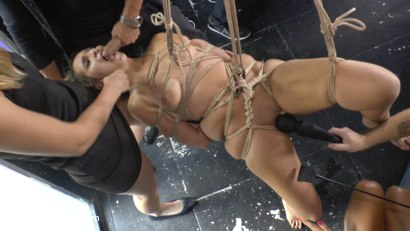 Photo number 11 from Nikki Litte Loves Being a Public Ashtray shot for Public Disgrace on Kink.com. Featuring Mona Wales, Steve Holmes, Nick Moreno and Nikki Litte in hardcore BDSM & Fetish porn.