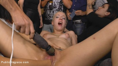 Photo number 9 from Eager Blonde Nympho Needs All Her Holes Publicly Pounded  shot for Public Disgrace on Kink.com. Featuring Mona Wales, Max Cortes and Liz Rainbow in hardcore BDSM & Fetish porn.