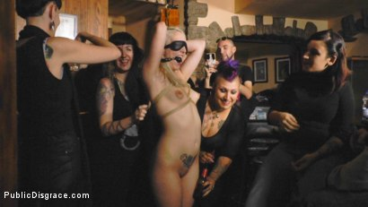 Photo number 7 from Eager Blonde Nympho Needs All Her Holes Publicly Pounded  shot for Public Disgrace on Kink.com. Featuring Mona Wales, Max Cortes and Liz Rainbow in hardcore BDSM & Fetish porn.