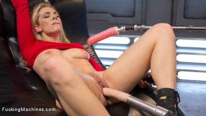 Photo number 1 from Stunning Blonde Babe Gets Fucked Into Oblivion shot for Fucking Machines on Kink.com. Featuring Dahlia Sky in hardcore BDSM & Fetish porn.