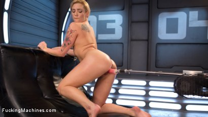 Photo number 12 from Stunning Blonde Babe Gets Fucked Into Oblivion shot for Fucking Machines on Kink.com. Featuring Dahlia Sky in hardcore BDSM & Fetish porn.