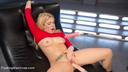 Photo number 8 from Stunning Blonde Babe Gets Fucked Into Oblivion shot for Fucking Machines on Kink.com. Featuring Dahlia Sky in hardcore BDSM & Fetish porn.
