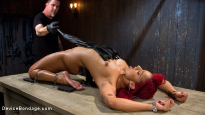 Photo number 4 from Helpless Slut Tormented and Massive Squirting Orgasms!! shot for Device Bondage on Kink.com. Featuring Daisy Ducati and The Pope in hardcore BDSM & Fetish porn.