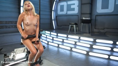 Photo number 13 from Golden-Haired, Teen Gets Schooled By Fast, Fucking-Machines shot for Fucking Machines on Kink.com. Featuring Goldie Glock in hardcore BDSM & Fetish porn.