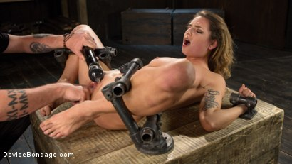 Photo number 15 from Helpless Whore Begs For More shot for Device Bondage on Kink.com. Featuring Missy Minks and The Pope in hardcore BDSM & Fetish porn.