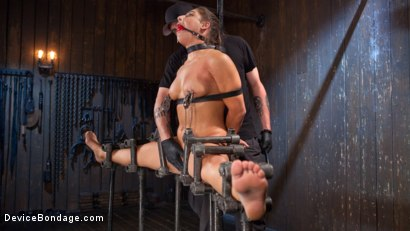Photo number 11 from 19 Year Old Danger! shot for Device Bondage on Kink.com. Featuring Abella Danger and The Pope in hardcore BDSM & Fetish porn.