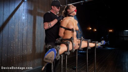 Photo number 9 from 19 Year Old Danger! shot for Device Bondage on Kink.com. Featuring Abella Danger and The Pope in hardcore BDSM & Fetish porn.