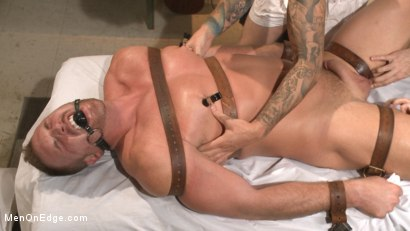 Photo number 9 from Undercover cop begs to cum in an sketchy massage parlor shot for Men On Edge on Kink.com. Featuring Josh Peters in hardcore BDSM & Fetish porn.