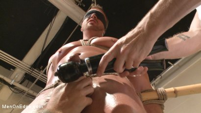 Photo number 13 from Undercover cop begs to cum in an sketchy massage parlor shot for Men On Edge on Kink.com. Featuring Josh Peters in hardcore BDSM & Fetish porn.