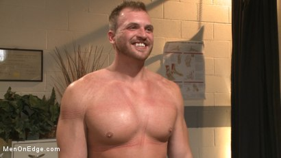 Photo number 15 from Undercover cop begs to cum in an sketchy massage parlor shot for Men On Edge on Kink.com. Featuring Josh Peters in hardcore BDSM & Fetish porn.