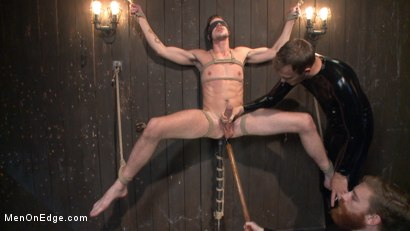 Photo number 8 from Jack Hunter's audition becomes a dark edging fantasy shot for Men On Edge on Kink.com. Featuring Jack Hunter in hardcore BDSM & Fetish porn.
