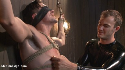 Photo number 10 from Jack Hunter's audition becomes a dark edging fantasy shot for Men On Edge on Kink.com. Featuring Jack Hunter in hardcore BDSM & Fetish porn.