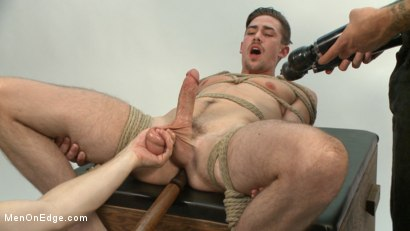 Photo number 5 from Jack Hunter's audition becomes a dark edging fantasy shot for Men On Edge on Kink.com. Featuring Jack Hunter in hardcore BDSM & Fetish porn.