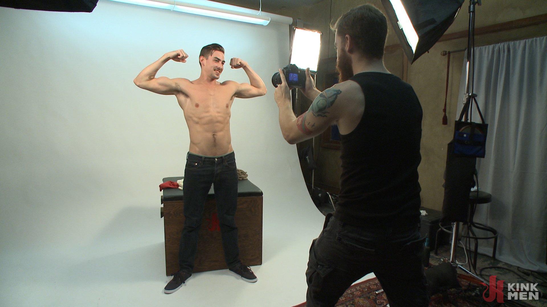 Photo number 1 from Jack Hunter's audition becomes a dark edging fantasy shot for Men On Edge on Kink.com. Featuring Jack Hunter in hardcore BDSM & Fetish porn.