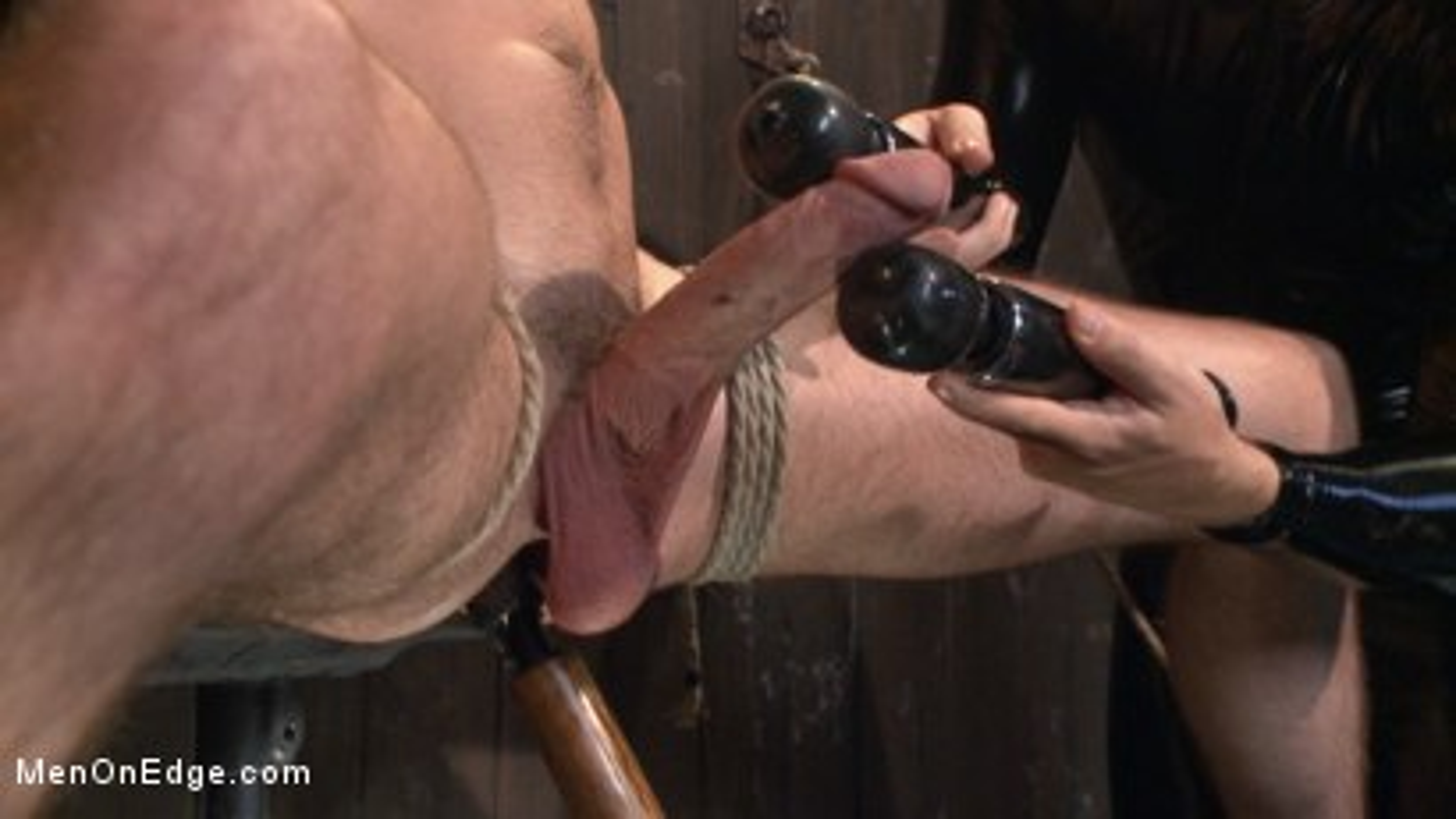 Photo number 14 from Jack Hunter's audition becomes a dark edging fantasy shot for Men On Edge on Kink.com. Featuring Jack Hunter in hardcore BDSM & Fetish porn.