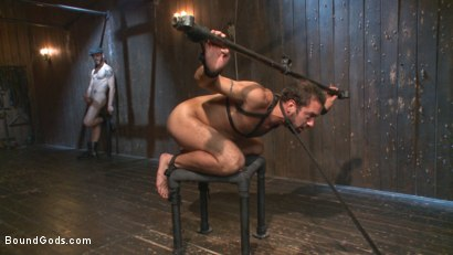 Photo number 11 from No Escape shot for Bound Gods on Kink.com. Featuring Wolf Hudson and DJ in hardcore BDSM & Fetish porn.
