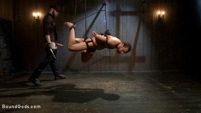 Photo number 7 from No Escape shot for Bound Gods on Kink.com. Featuring Wolf Hudson and DJ in hardcore BDSM & Fetish porn.
