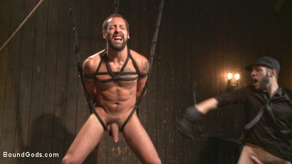 Photo number 6 from No Escape shot for Bound Gods on Kink.com. Featuring Wolf Hudson and DJ in hardcore BDSM & Fetish porn.